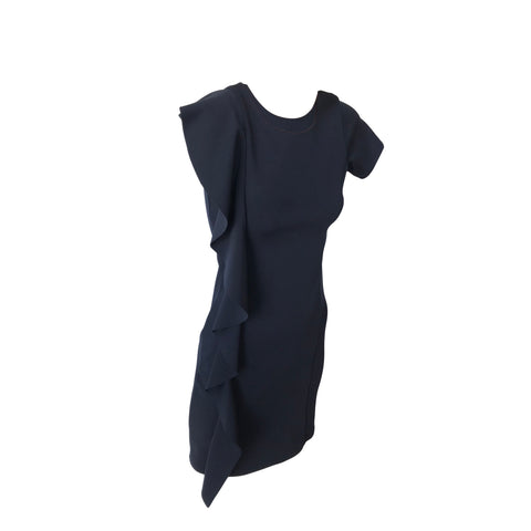 Navy Ruffle Dress | Cheryl Creations (New York)
