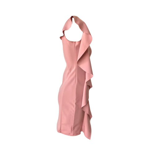 Blush Ruffle Dress | Cheryl Creations (New York)