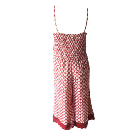 Red Polka Jumpsuit | Haute Hits (New York) - SIZE 16 ONLY
