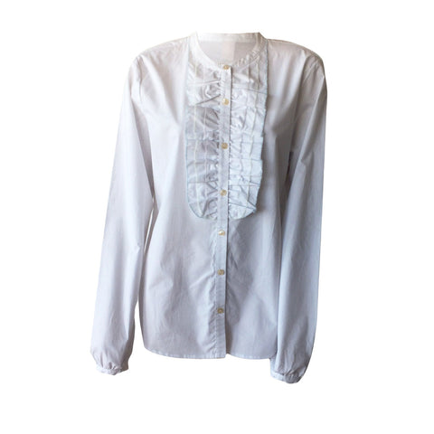 Poplin Shirt with Romantic Detail | Scotch & Soda (Netherlands)