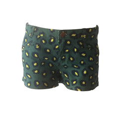 These jungle print shorts by Scotch R'Belle go with anything. Beautifully cut they are super comfortable and a great alternative to your indigo denim shorts.