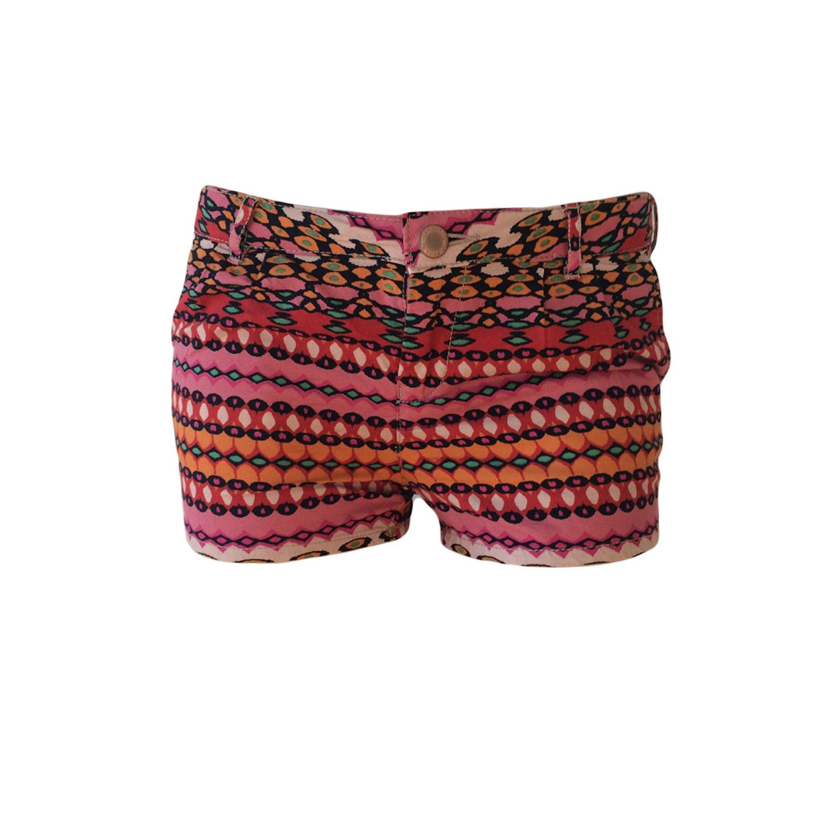 LOVE these red boho mini shorts by Scotch R