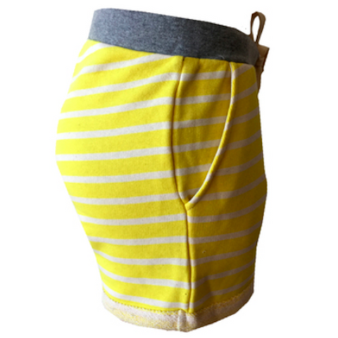 Yellow & White Striped Short | Street Called Madison (Netherlands)