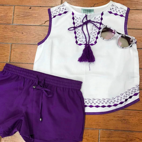 Lilac Twin Set | Haute Hits (New York)