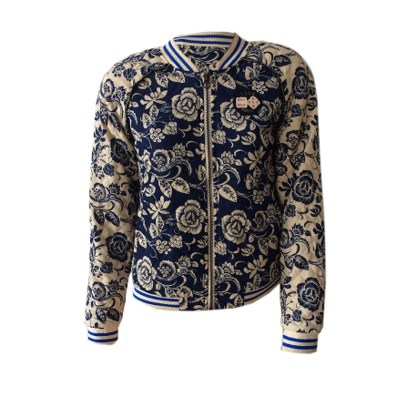 Quilted Bomber Jacket | Scotch & Soda (Netherlands) - SIZE 10 ONLY