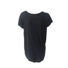 High / Low Basic Tee - Black | So Nikki (USA)