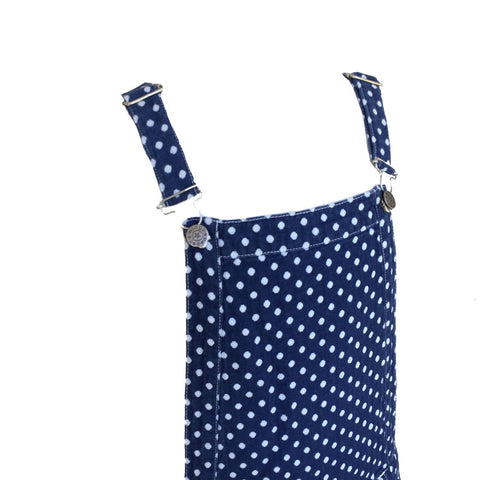Polka Dot Denim Overalls | Paperwings (Australia)