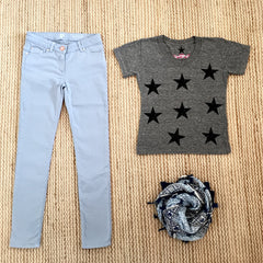 So Nikki, scattered stars tee, vintage stars tee, teen fashion