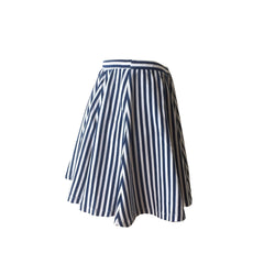 Rica Striped Skater Skirt, B&W striped skirt, stripe skater skirt, sevenoneseven, teen fashion