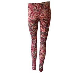 Paisley Leggings, Boho print leggings, tribal leggings, T2 Love, Teen Fashion