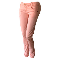 These jeans by Dutch label Tumble & Dry are so soft you won't believe they're denim. Super light fabric with good stretch and a perfect fit and a perfect blush colour.