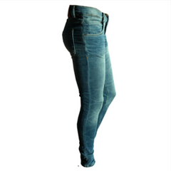 Mildry Distressed Dark Denim, Indigo Skinny Jeans, Tumble & Dry, Dutch Denim, Teen fashion