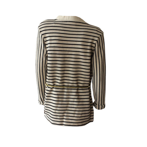 This is the perfect throw over by Scotch & Soda for Summer 17. The classic stripes will match your entire summer wardrobe. Could even be used over a swimming costume to wear to the beach or by the pool.