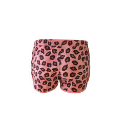 Super cute red leopard print shorts by Scotch & Soda.  Perfect for the beach. These shorts look great with any basic tank or tee.  They look great with a denim jacket!