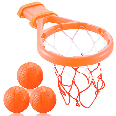 Bath Toy Basketball Hoop & Balls Set for Boys and Girls