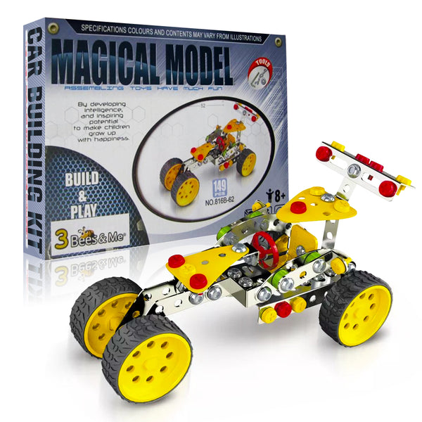 STEM Car Building Toy Kit - DIY Toy for Boys and Girls Age 8 and Up