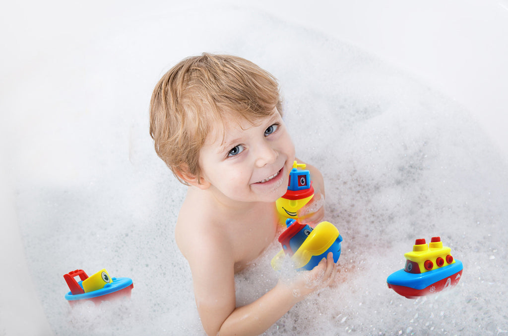 fun bath toys for boys and girls magnet boat set for toddlers kids - Kids Fun Pictures