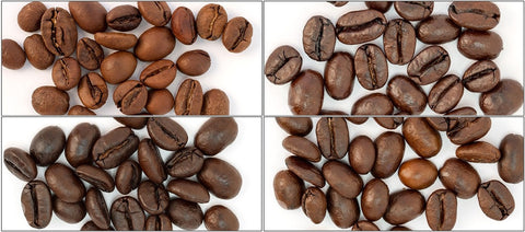 Espresso Sample Pack (Eyes Wide Open, Italian Roast Espresso, Super Dark Espresso, Six Bean Espresso) - Coffee Canopy