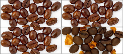 Flavors Sample Pack (French Vanilla, Hazelnut, Jamaican Me Crazy, Seville Orange) - Coffee Canopy