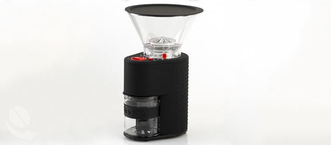 Bodum Bistro Burr Coffee Grinder (Black) - Coffee Canopy