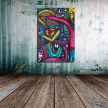 Load image into Gallery viewer, Dank Floyd 24 x 36 Canvas Print - Joshua Oliveira