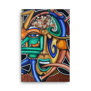 Failed Assassination of the Pineal Gland Surreal Art Canvas - Joshua Oliveira