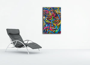 Mind Over Matter Canvas Print - Joshua Oliveira