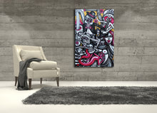 Load image into Gallery viewer, The Reaping Hour Surreal Art Canvas - Joshua Oliveira