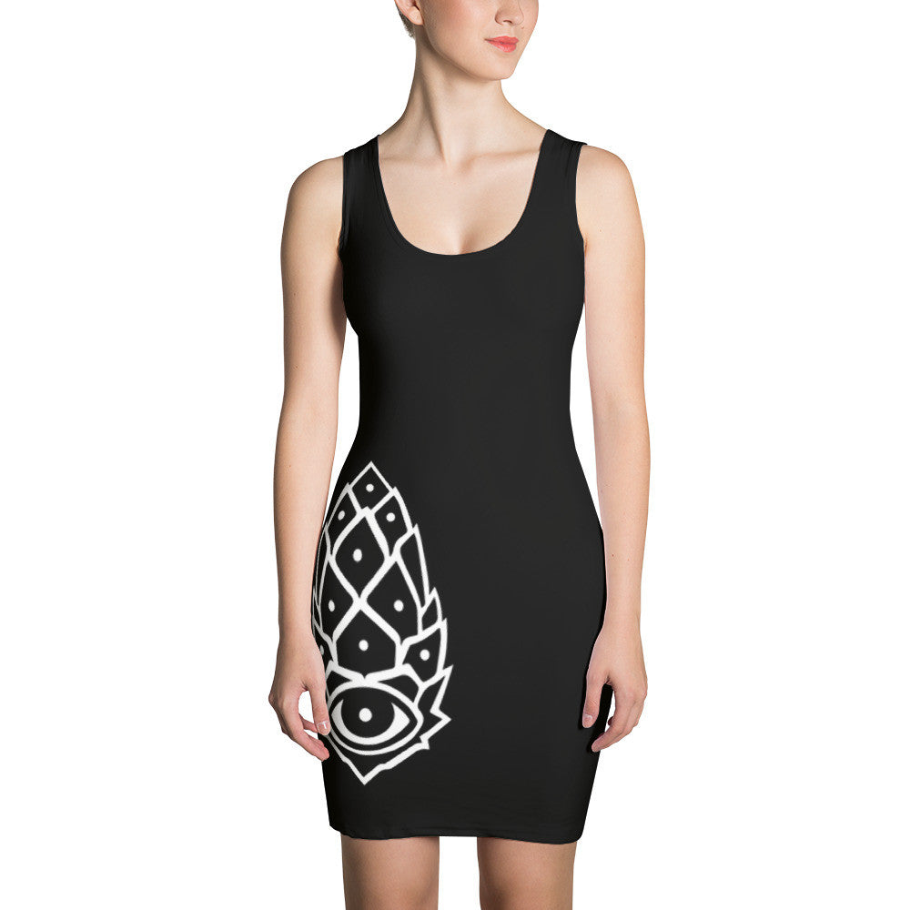 Pineal Gland Cut & Sew Dress - Joshua Oliveira