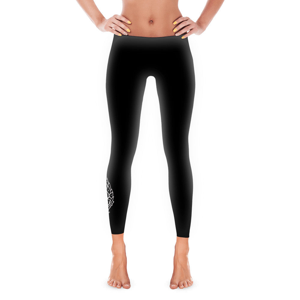 Pineal Gland Black Leggings - Joshua Oliveira