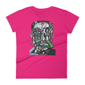 Thought Control Womans Shirt - Joshua Oliveira