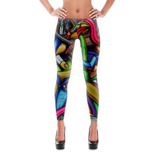 Load image into Gallery viewer, Mind Over Matter Art Leggings - Joshua Oliveira
