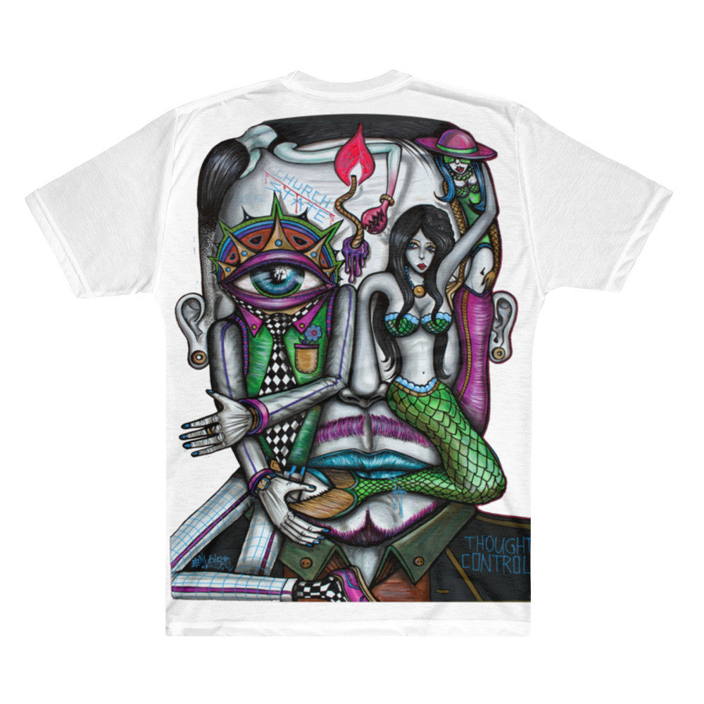 Thought Control All Over Shirt - Joshua Oliveira