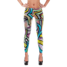 Load image into Gallery viewer, Pandora's Wine Art Leggings - Joshua Oliveira