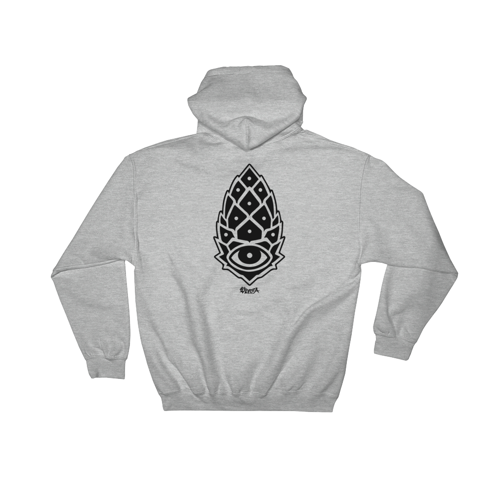 Surreal Mens Hooded Sweatshirt - Joshua Oliveira