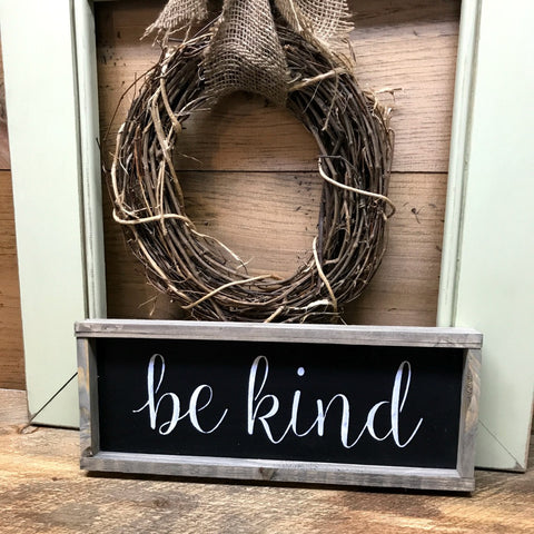 Be kind, inspirational quote