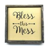 Bless This Mess, Wooden Sign