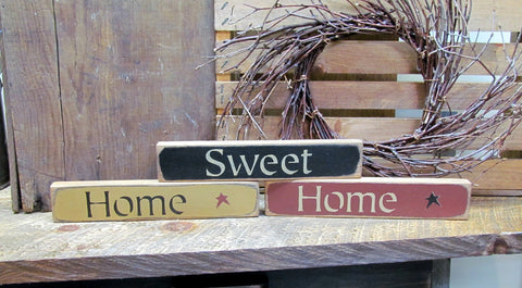 Home Sweet Home, Wooden Signs