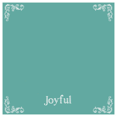 Chalk Paint, Wise Owl Chalk Synthesis Paint, Joyful 16oz