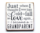 Grandparent Sign