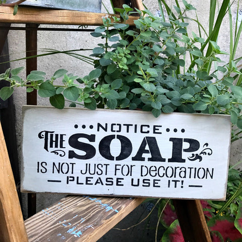 Bathroom Sign, Bathroom Decor