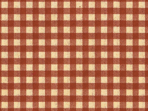 Tissue Paper Burgundy Gingham