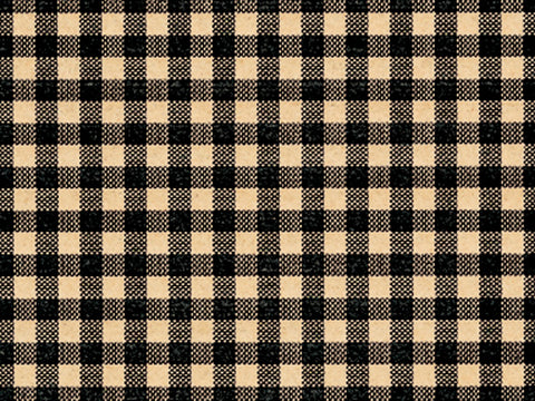 Tissue Paper Black Gingham