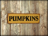 Pumpkins, Wooden Fall Sign, Decor
