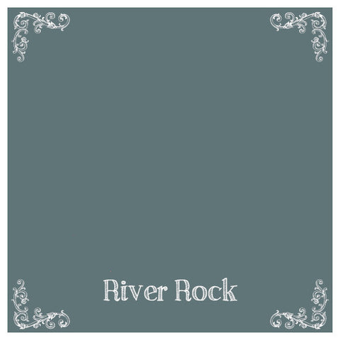 Chalk Paint, Wise Owl Chalk Synthesis Paint, River Rock 16oz