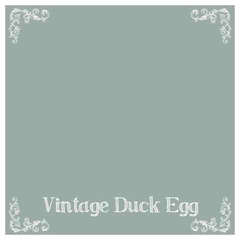 Chalk Paint, Wise Owl Chalk Synthesis Paint, Vintage Duck Egg 16oz