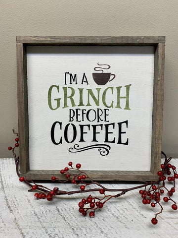 Coffee Bar Sign, Christmas Decor