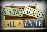 Spring Summer Winter Fall