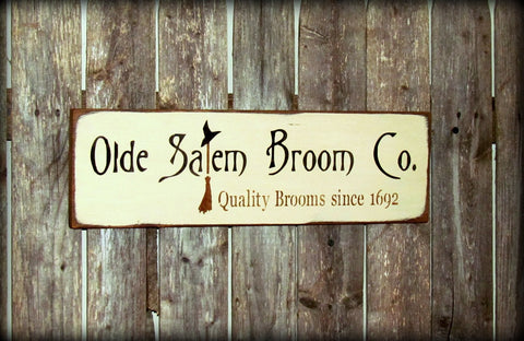 Fall Decor, Olde Salem Broom Co.