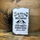 Old Black Crow Seed Company, Spring Wooden Sign